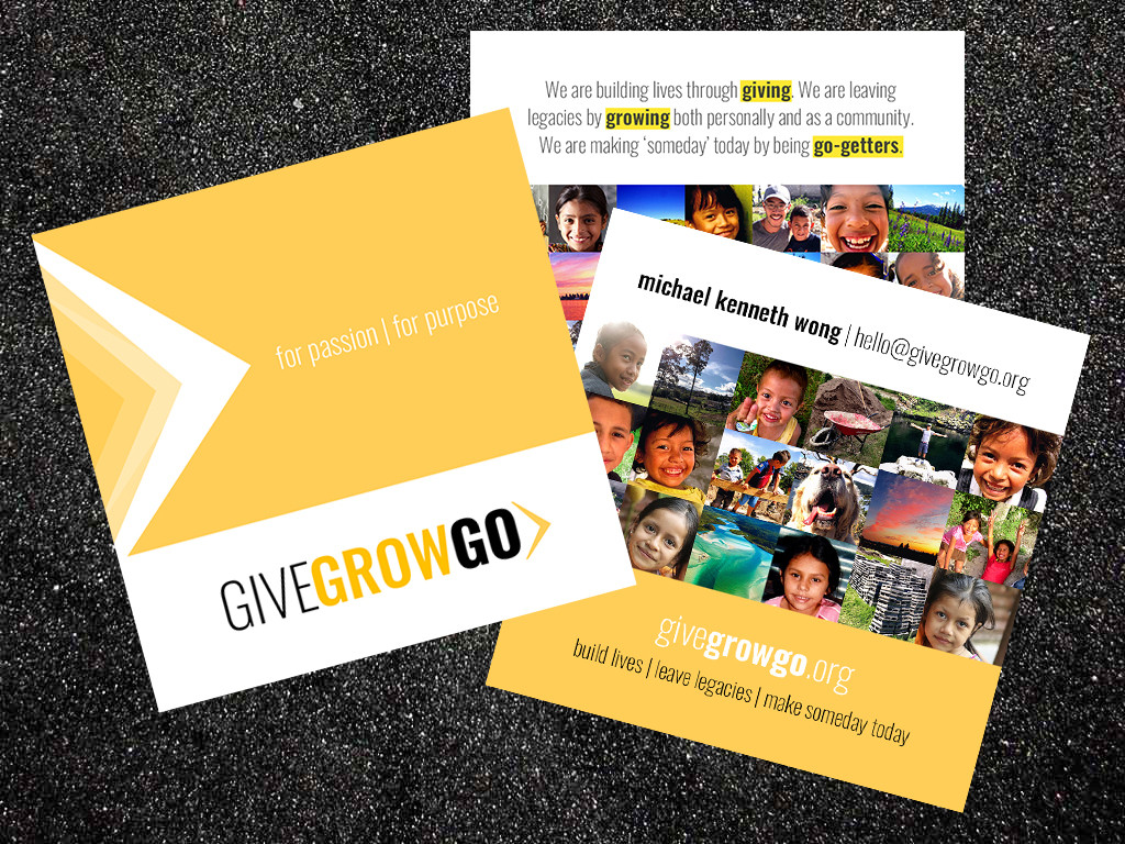 GIVEGROWGO Business Cards