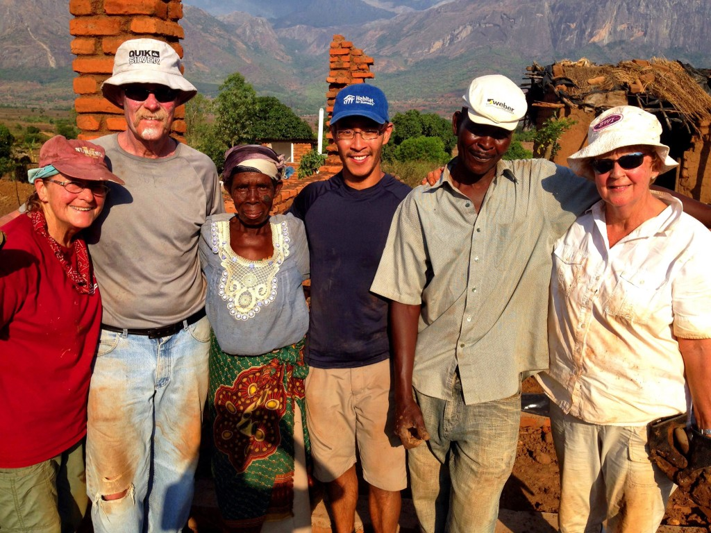Building a home for Lydia and her family