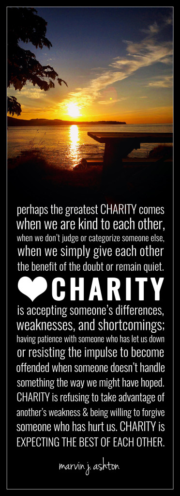 A definition for CHARITY